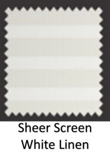 screen white linen