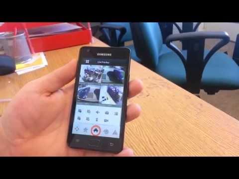 cámaras de seguridad desde aplicativo móvil