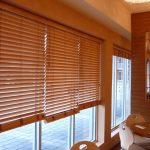 persiana en madera