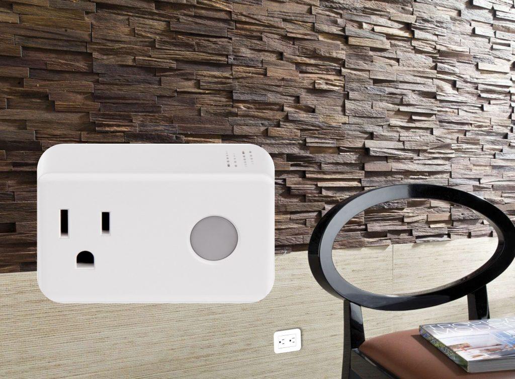 toma wifi inteligente en pared