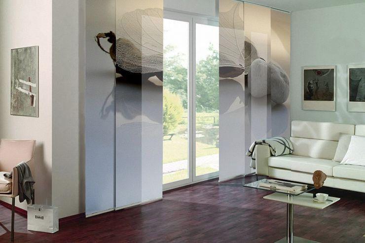 panel japones estampado persinas cortinas domotica