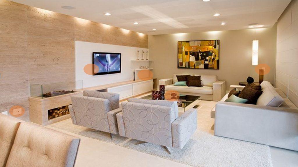 salas de estar con kit de domotica ecosonics