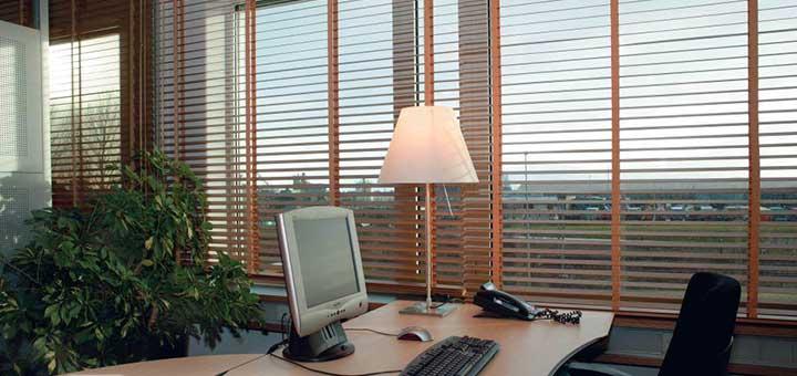 macro madera para oficina